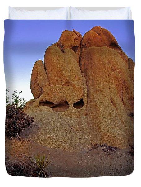 The Sand Castle Duvet Cover