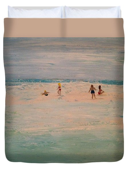 The Sandbar Duvet Cover