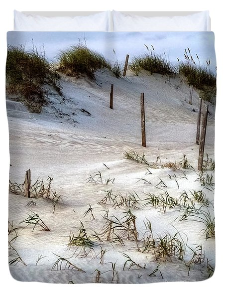 The Sands Of Obx Hdr II Duvet Cover