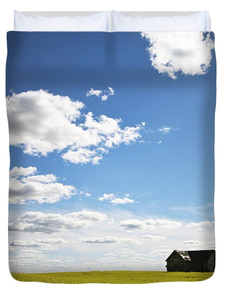 The Saskatchewan Prairies II Duvet Cover