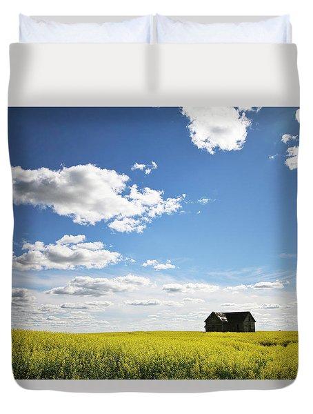 The Saskatchewan Prairies II Duvet Cover