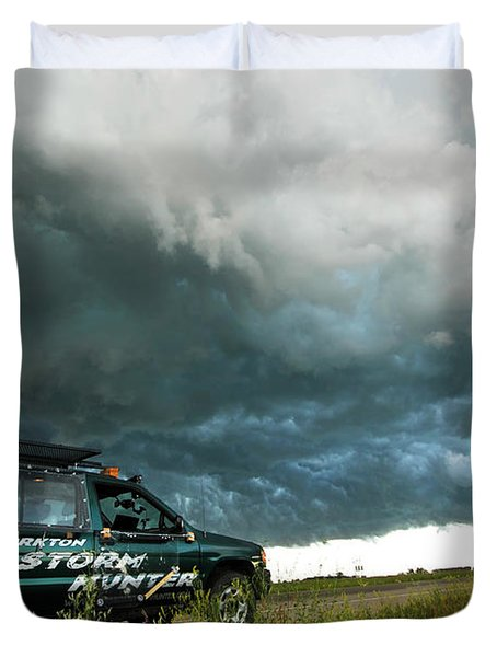 The Saskatchewan Whale's Mouth Duvet Cover