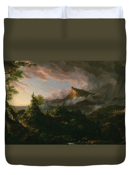 The Savage State Duvet Cover