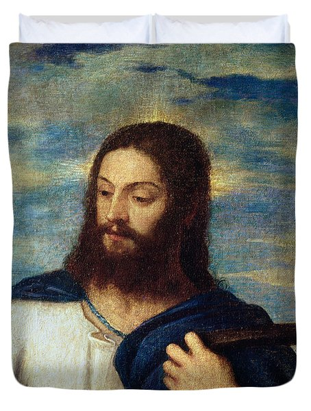The Savior Duvet Cover