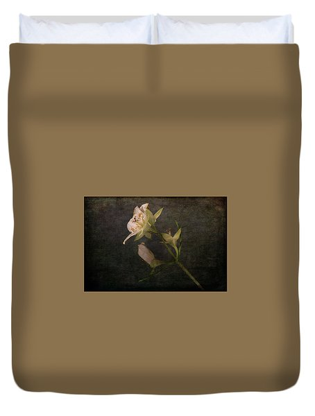 Duvet Cover featuring the photograph The Scent Of Jasmines by Randi Grace Nilsberg