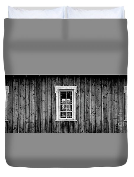 The School House Duvet Cover