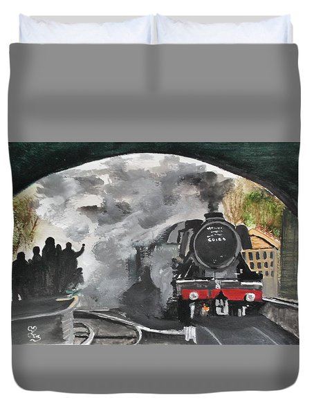 The Scotsman Duvet Cover
