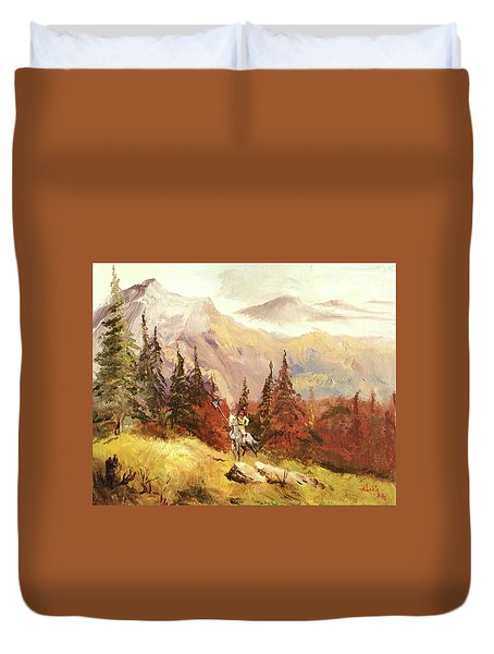 The Scout Duvet Cover