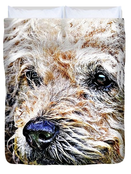 The Scruffiest Dog In The World Duvet Cover