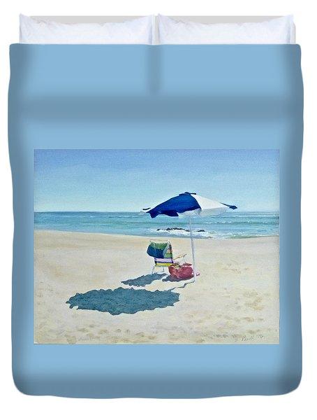 The Sea Air Duvet Cover