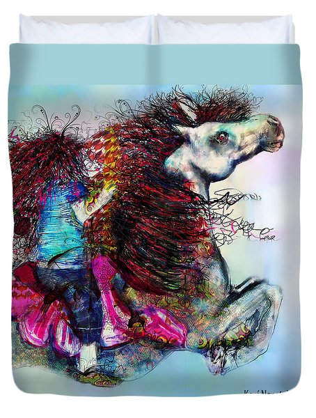 The Sea Horse Fairy Duvet Cover