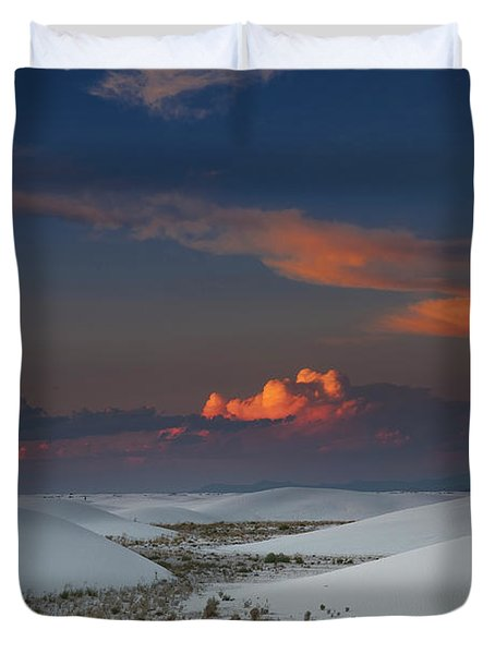The Sea Of Sands Duvet Cover