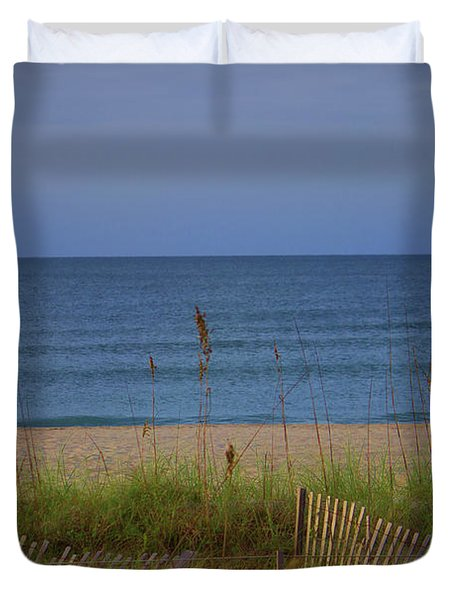 The Sea Shore Line Duvet Cover