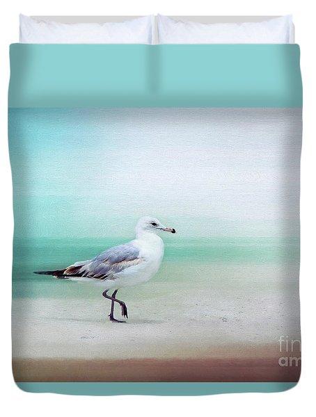 The Seagull Strut Duvet Cover