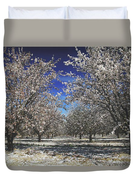 Duvet Cover featuring the photograph The Season Of Us by Laurie Search