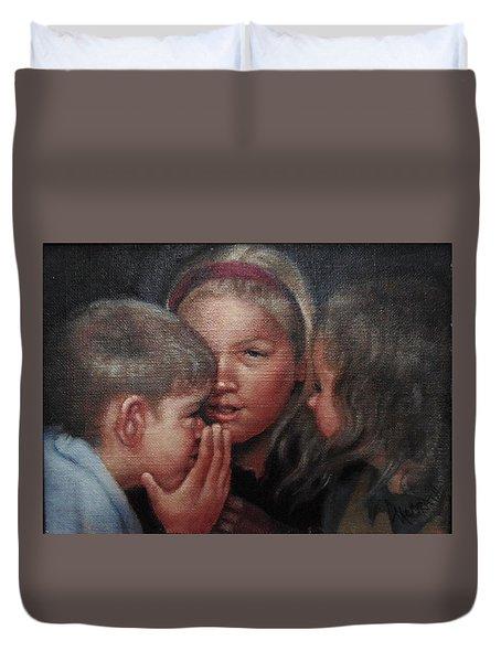 The Secret Duvet Cover by Janet McGrath