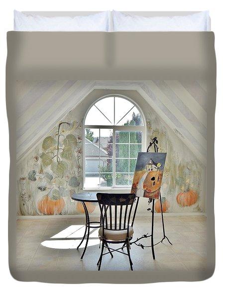 The Secret Room Duvet Cover