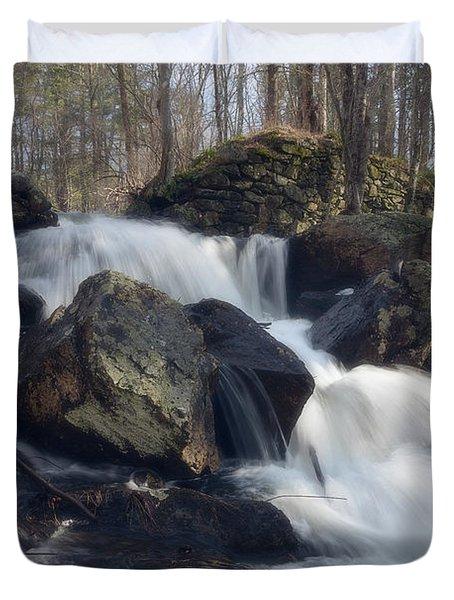 The Secret Waterfall 1 Duvet Cover