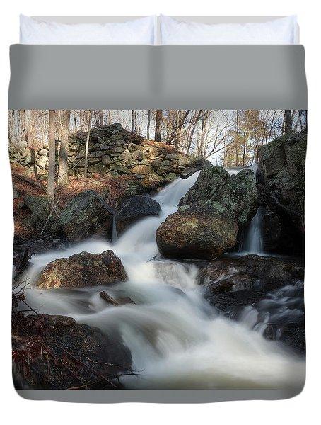 The Secret Waterfall 2 Duvet Cover