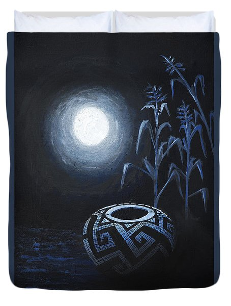 The Seed Pot Duvet Cover by Jerry McElroy