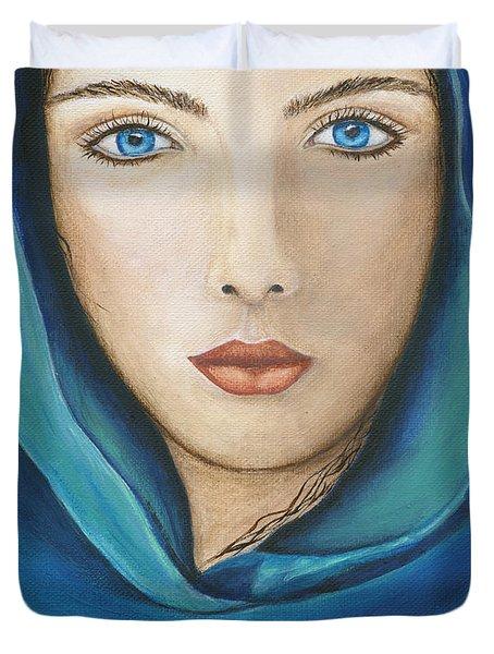 The Seer Duvet Cover by JoDee Luna