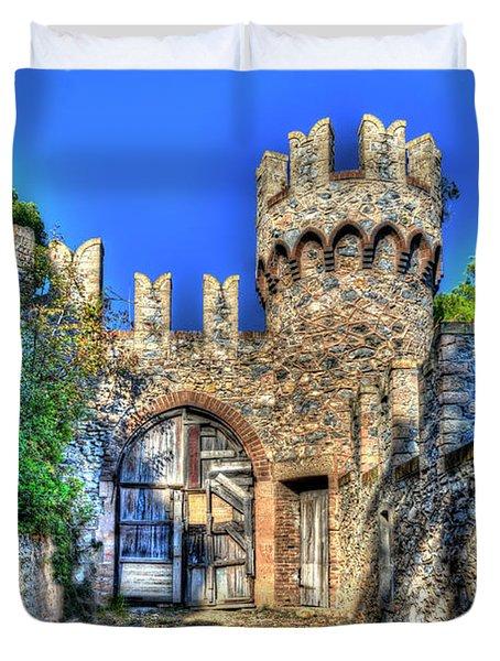 The Senator Castle - Il Castello Del Senatore Duvet Cover