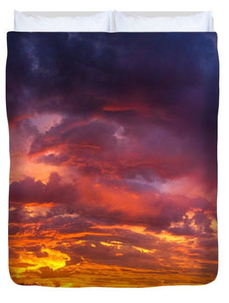 The Sentinel's Surprise Duvet Cover