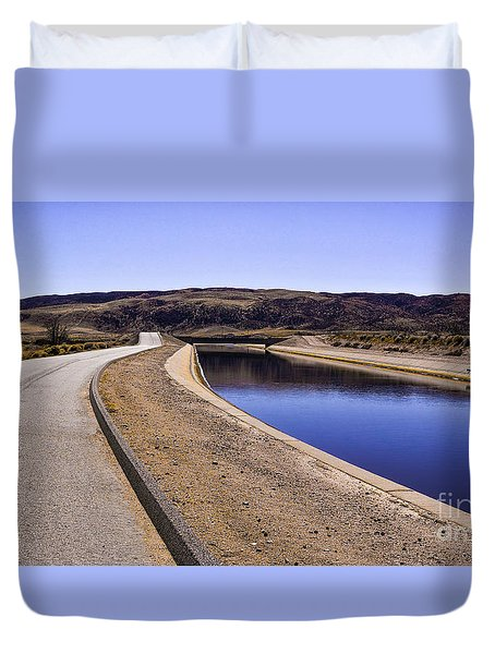 The Service Road Duvet Cover