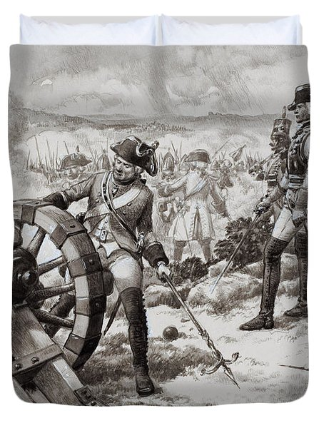 The Seven Years' War Duvet Cover