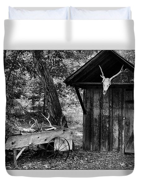 The Shack Duvet Cover by Wade Courtney
