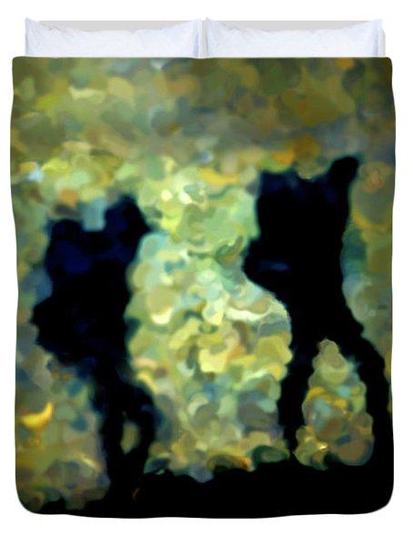 The Shadowalkers Duvet Cover