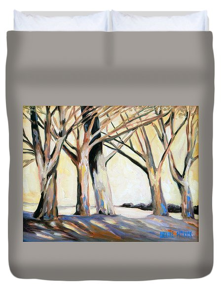 The Shadows Duvet Cover