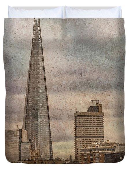London, England - The Shard Duvet Cover
