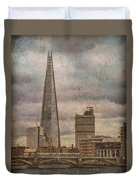 London, England - The Shard Duvet Cover