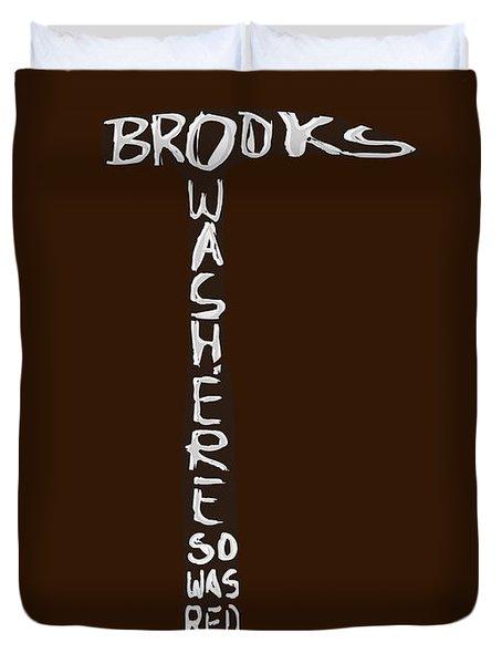 The Shawshank Redemption Movie Poster 2 Duvet Cover