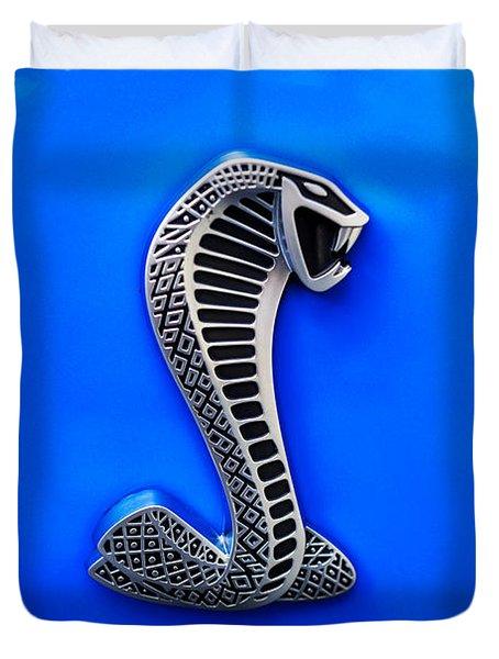 The Shelby Snake Duvet Cover by Paul Mashburn
