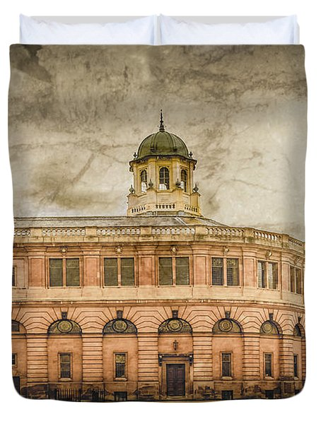 Oxford, England - The Sheldonian Theater Duvet Cover