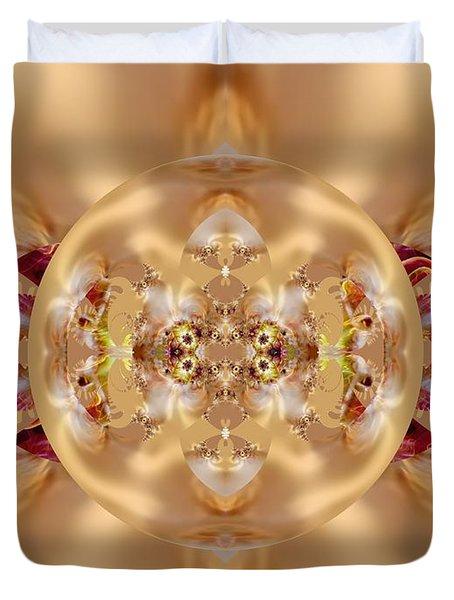 The Shine Of Satin Duvet Cover