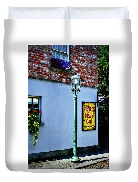 The Shops At Bunratty Castle Duvet Cover