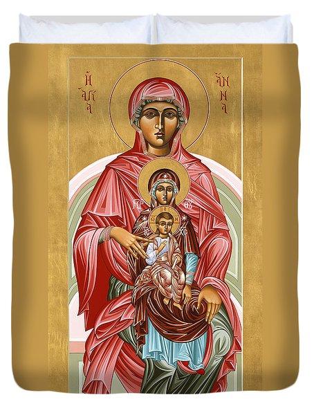 The Shrine Of St Anne 058 Duvet Cover