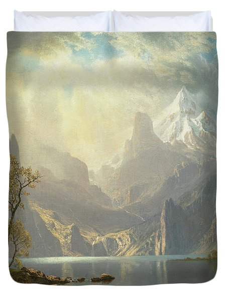 The Sierra Nevada Duvet Cover