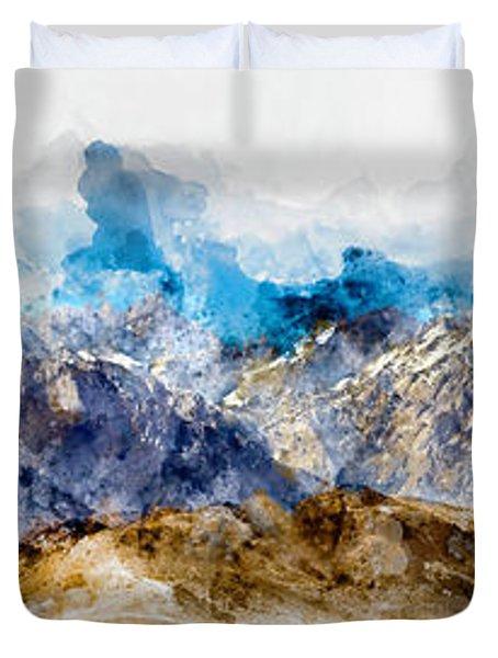 The Sierras Duvet Cover