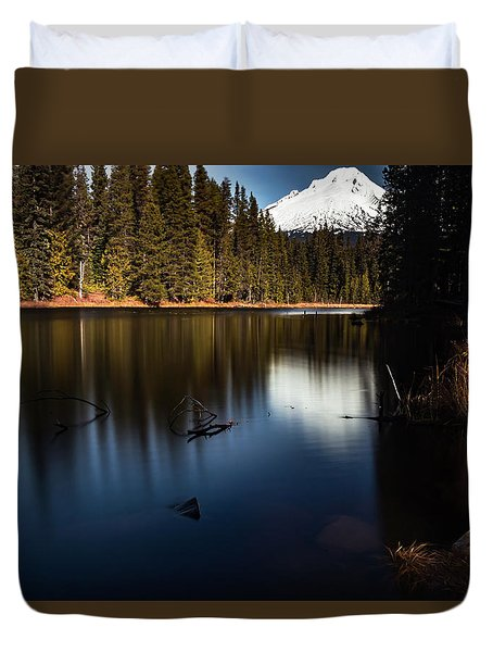 The Silence Of The Lake Duvet Cover