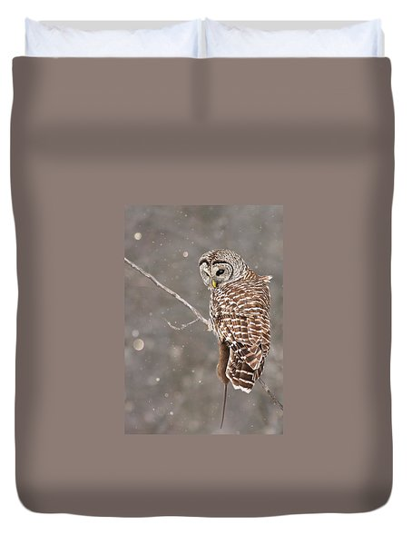 The Silent Hunter Duvet Cover