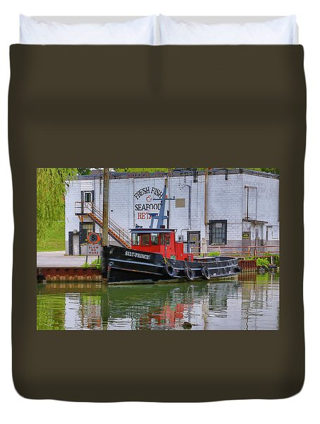 The Silt-prince Duvet Cover by Gary Hall