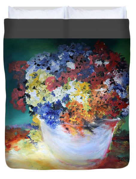 The Silver Pot Duvet Cover by Gary Smith