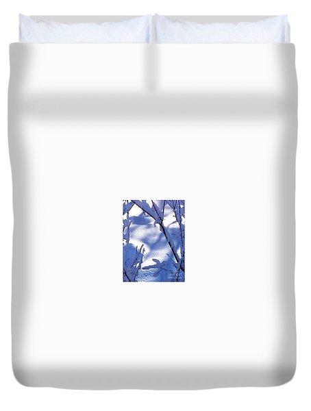 The Single Diamond Duvet Cover by Jennifer Lake
