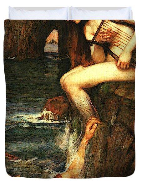 The Siren A Duvet Cover