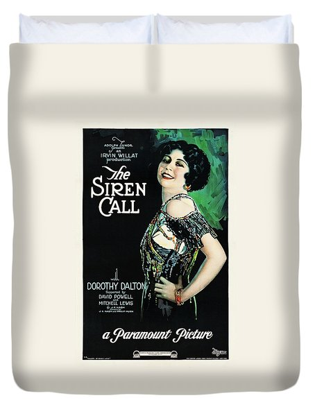 The Siren Call Duvet Cover by Paramount