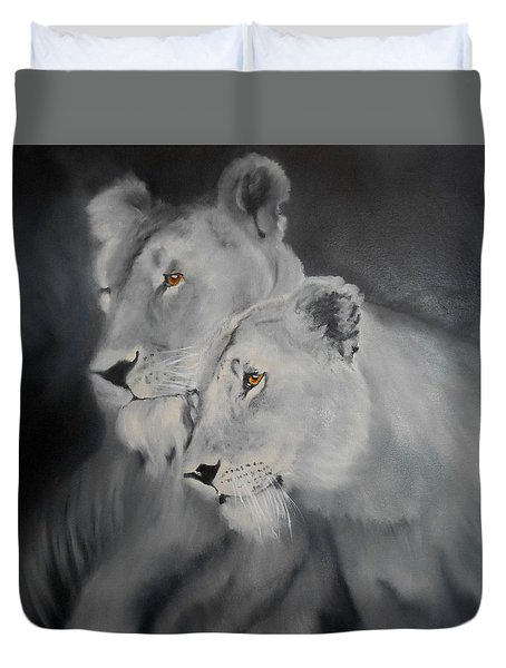 The Sisters Duvet Cover by Maris Sherwood